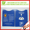 Advertisng Customized Printing Paper Car Parking Disc