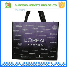 New modern foldable recycle nonwoven shopping bag