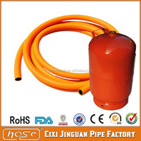 Flexible Plastic LPG Pipe Household PVC Gas Hose Used on LPG Cylinder Tanks and Regulator Africa Market