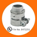 UL Conector Recto para Conduit Metalico Flexible