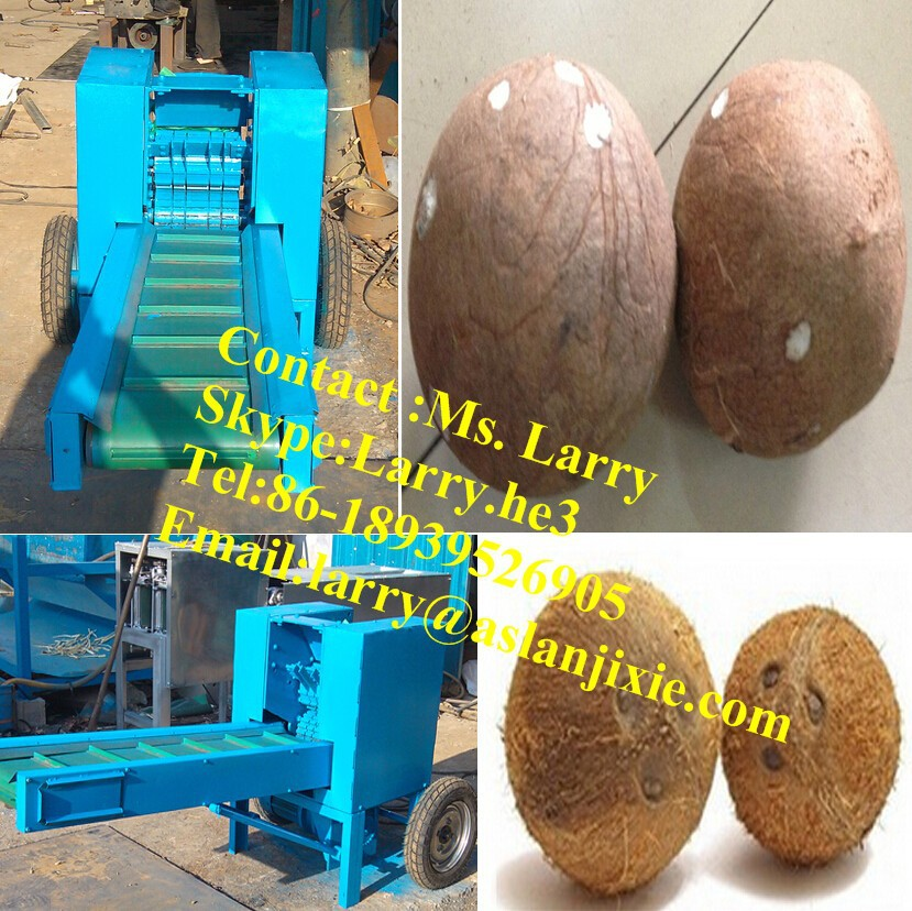 coconut scraping machine/brown coconut scraper /coconut dehusker machine