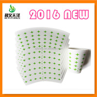 2016 food grade double side pe coated pe laminated kraft paper