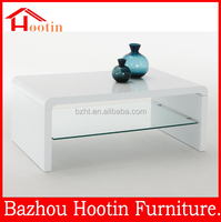 low price elegant luxury contemporary high gloss coffee tables