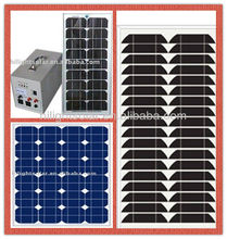 High-efficiency and Low-price panels solar 30 watt with TUV certificate