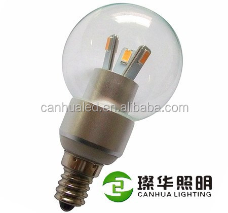 Top quality 3W led 5630SMD candle light, 3 watts led e12 bulb candle light with CE