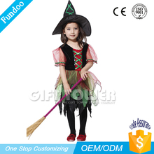 carnival character lovely girl witch costume
