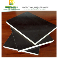 21mm pvc plastic film faced pywood /brownfilm faced plywood/ black film faced plywood hot sale poplar core easy to clean