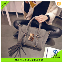 European fashion branded woman handbags wholesale made in China