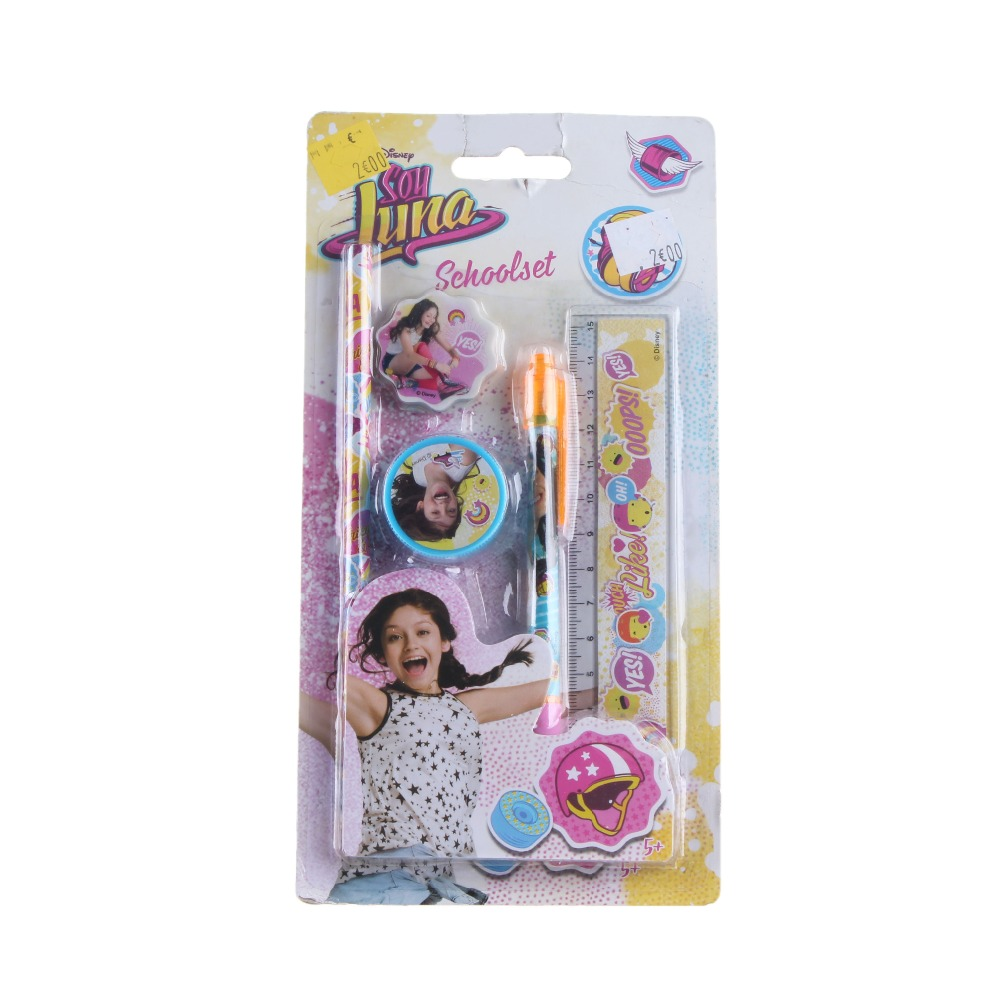 FJ Brand children stationery combination yiwu promotional learning items school stationery set for kids