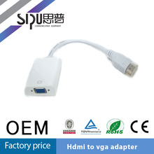 SIPU Top selling hdmi to vga converter cable 1080P for bulk sell