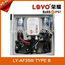 Hot promotion motorcycle hid xenon 12V 35W hid car lighting headlights car hid xenon kit