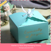 wholesale custom food grade paperboard & christmas paper cake box