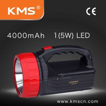 LED searchlight rechargeable and super brightness
