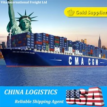 Shipping Sea Freight From China to USA Door to Door Service