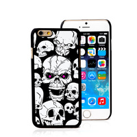 Skulls designs for iphone case ultra thin power bank case for iphone 6, external backup battery cell phone case