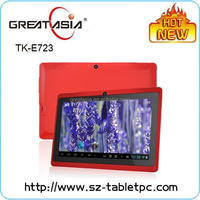 Great Asia A23 7 inch best low price tablet pc with CE RoHs