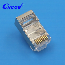COB competitive price FTP cat5e plug 8p8c male connector