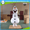 Snowman olaf mascot costume for adult