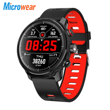 Microwear L5 <strong>Smart</strong> <strong>Watch</strong> Waterproof Men Bluetooth Android Wristband Call Reminder Heart Rate Pedometer Swimming Ip68 <strong>Smart</strong> <strong>Watch</strong>