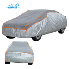 UV protector polyester auto smart full set canvas car cover