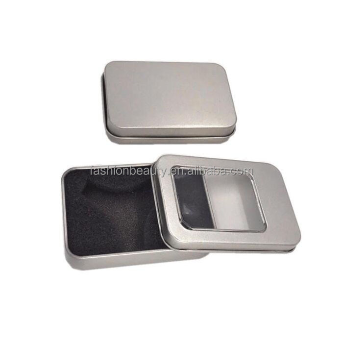 OEM Tin Can Glossy Aluminum Gift Box
