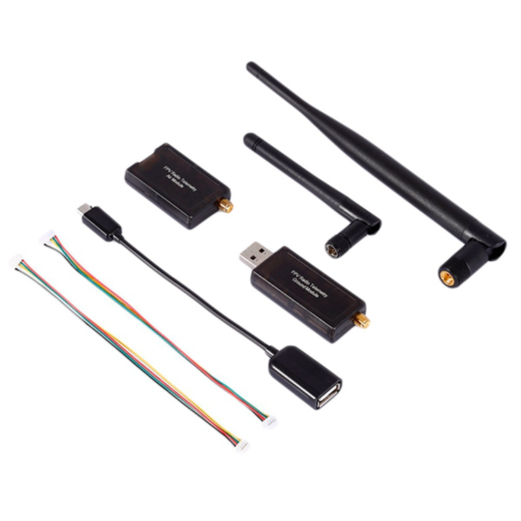 1set 3DR 500MW Radio Telemetry 433Mhz 915Mhz Air and Ground Data Transmit Module for APM Flight Control FPV Compact Size