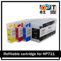 Auto reset chip available for hp 711 refillable ink cartridge