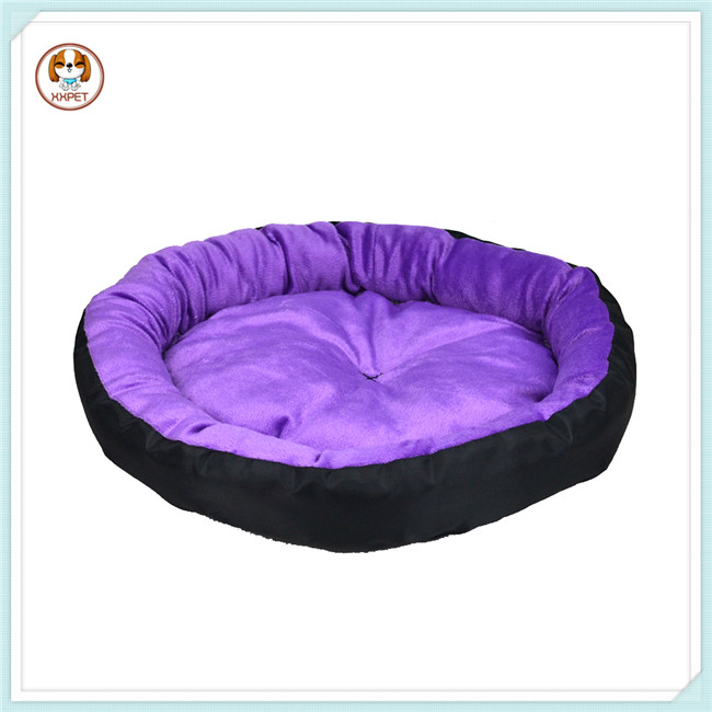 Ductile Purple Pet Bed Puppy Purple Pet Bed