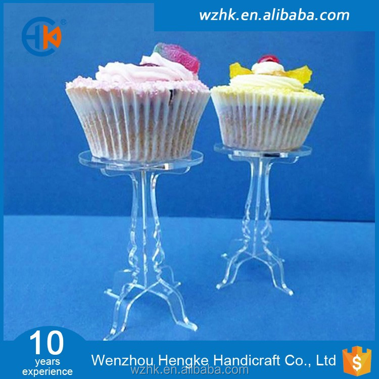 new arrival crystal acrylic cupcake display stand separator