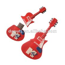 Cheap promotional guitar shape usb flash drive in different capacity,good choice for tradeshows,meeting and other events.