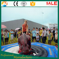 inflatable bull riding machine red bull
