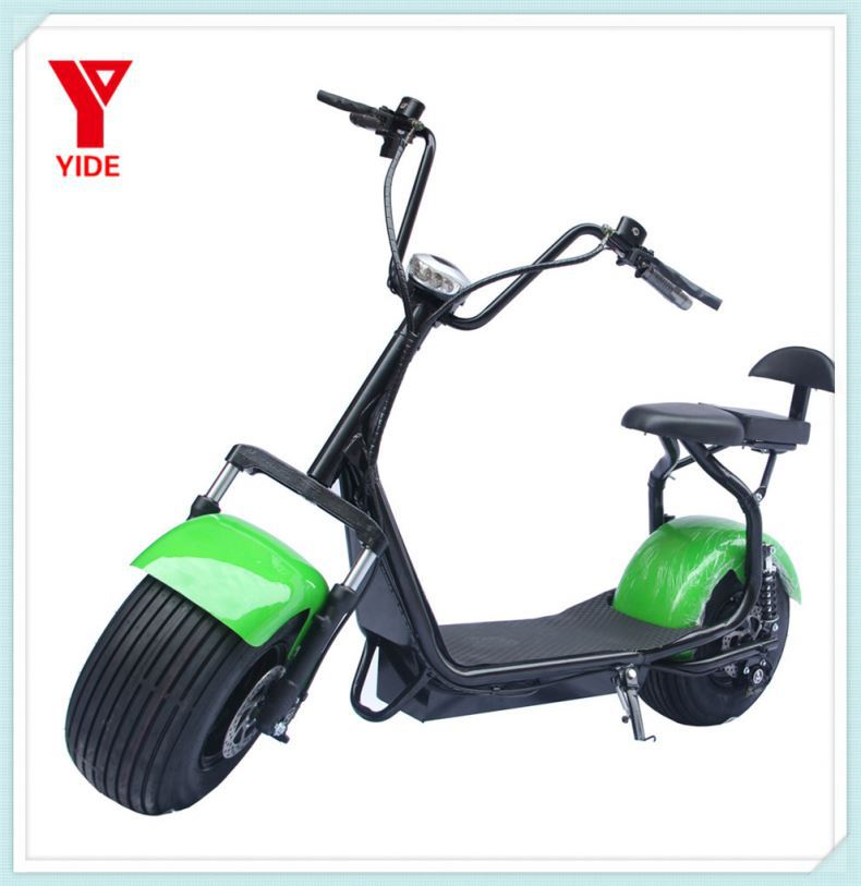 Shenzhen 2 wheel hoverboard personal transport vehicle 36V electric scooter 800w citycoco scooter