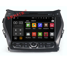 Double din android 7.1 system car headunits tape recorder player for Hyundai IX45 with wifi mp3 gps