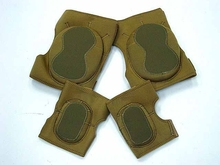 Soft Velcro ClosureTactical Knee and Elbow Protection Pads