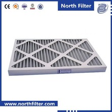 Cleanroom Solutions Panel Pleated Paper Furnace Filter