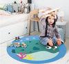 Hot Selling Non Slip Ultrasoft Round Baby Toy Play Mat Carpet