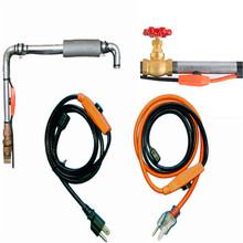 Freezing proof heater cable water pipe heating cable