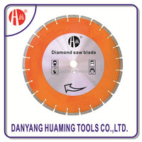 Laser Welded Hand/ Floor Saw Blade for cutting cured concrete, reinforced concrete and green concrete