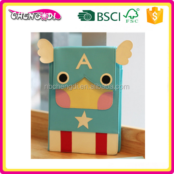 Super style various styles cute diary,journal notebook with lock