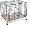Collapsible pet dog cage crate strong metal dog kennel