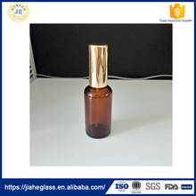 50ml brown essential oil glass bottle with sprayer for essential oil,attar oil,perfume etc