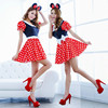 sexy women minnie mouse dress adult minnie mouse costume QAWC-2461