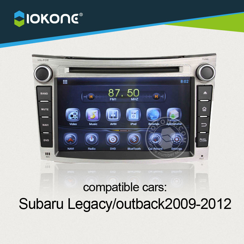 Android Car multimedia Stereo For Subaru Legacy / outback 2009 2010 2011 2012