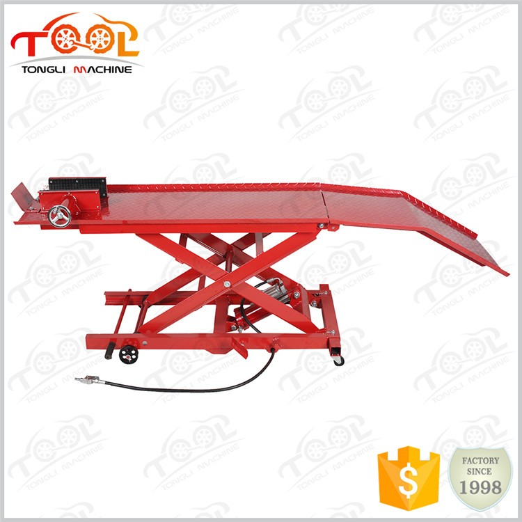 Alibaba Express Proper Price Top Quality 800lbs TL1700-3A Air Motorcycle Lifting Bench