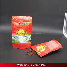 High quality custom printed aluminum foil stand up individually wrapped tea bags