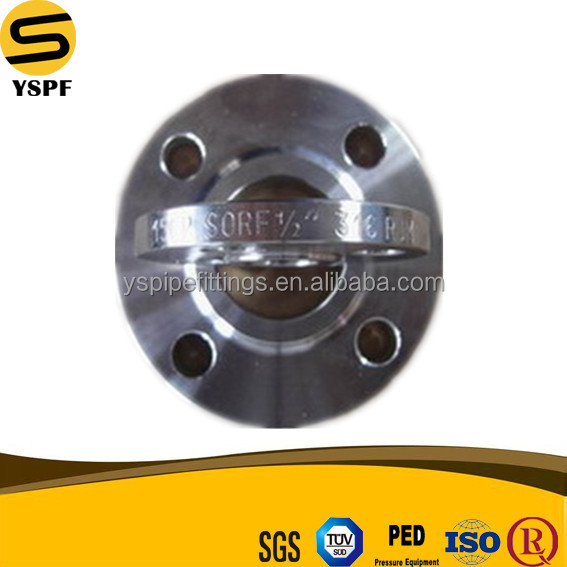 Belt Neck Butt Welding SO Flange Slip On RF Flange