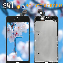 Good quality for applefor iphone 5s 5c 5g lcd origina with good price