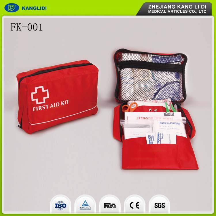KLIDI 2016 New Design Easy Take Bicycle Car Emergency First Aid Kit