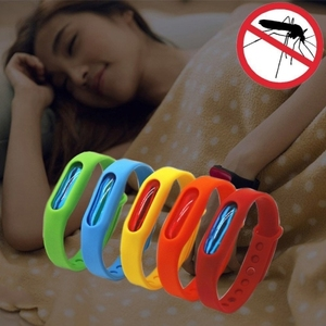 Dropship New Products 5 PCS Silicone Anti-mosquito Silicone Repellent Bracelet