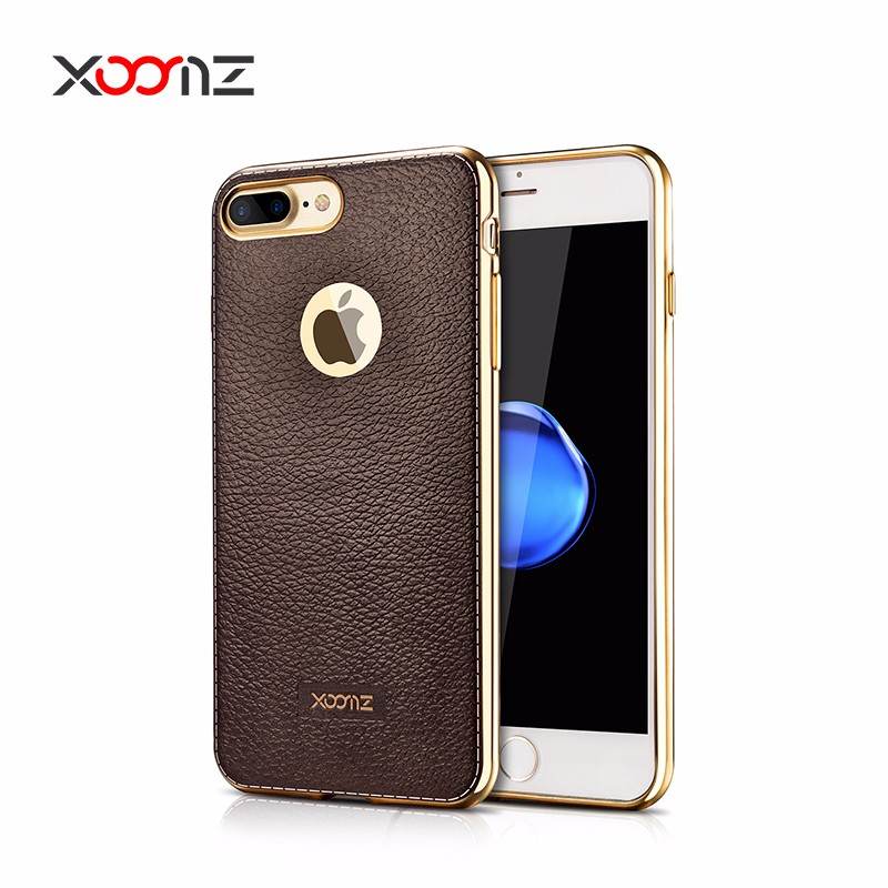 Aliexpress hot sell new products super slim PC electroplating back cover case for iphone 7